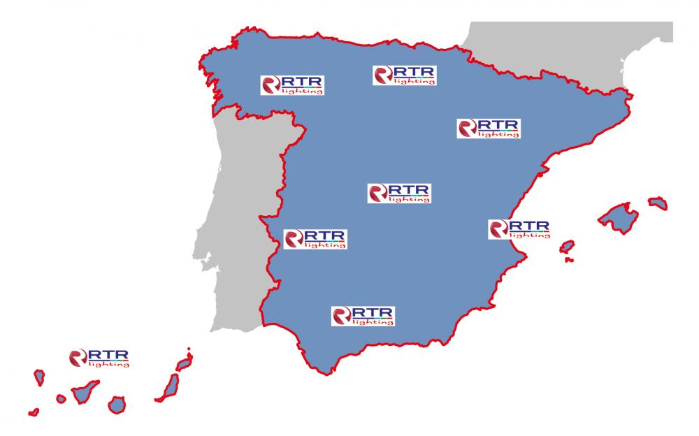 mapa españa RTR